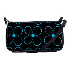 Blue flowers Shoulder Clutch Bags