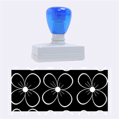 Blue flowers Rubber Stamps (Large)