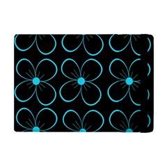 Blue flowers Apple iPad Mini Flip Case