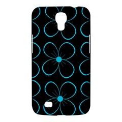 Blue flowers Samsung Galaxy Mega 6.3  I9200 Hardshell Case