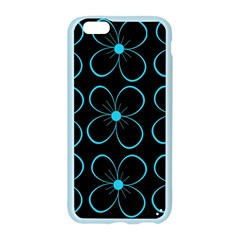 Blue flowers Apple Seamless iPhone 6/6S Case (Color)