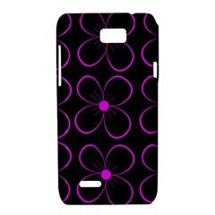 Purple floral pattern Motorola XT788