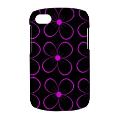Purple floral pattern BlackBerry Q10