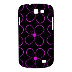 Purple floral pattern Samsung Galaxy Express I8730 Hardshell Case