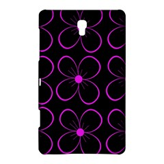 Purple floral pattern Samsung Galaxy Tab S (8.4 ) Hardshell Case