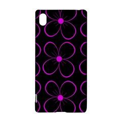 Purple floral pattern Sony Xperia Z3+