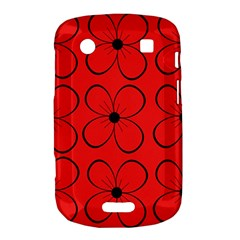Red floral pattern Bold Touch 9900 9930