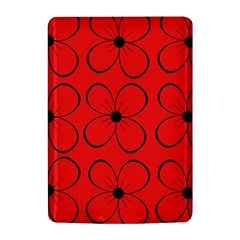 Red floral pattern Kindle 4