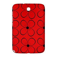 Red floral pattern Samsung Galaxy Note 8.0 N5100 Hardshell Case