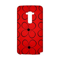 Red floral pattern LG G Flex