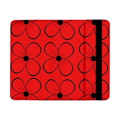Red floral pattern Samsung Galaxy Tab Pro 8.4  Flip Case