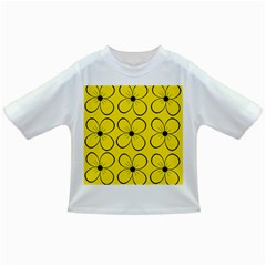 Yellow floral pattern Infant/Toddler T-Shirts