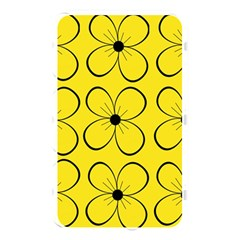 Yellow floral pattern Memory Card Reader