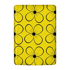Yellow floral pattern Kindle 4