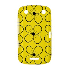 Yellow floral pattern BlackBerry Curve 9380