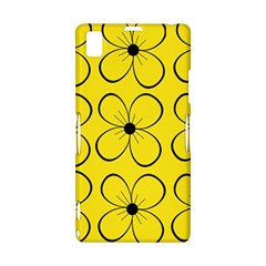 Yellow floral pattern Sony Xperia Z1