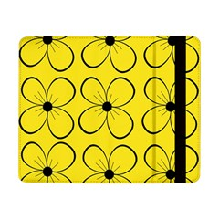 Yellow floral pattern Samsung Galaxy Tab Pro 8.4  Flip Case
