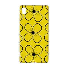 Yellow floral pattern Sony Xperia Z3+