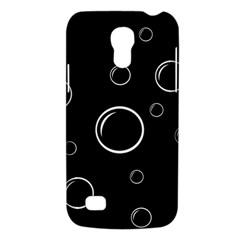 Black and white bubbles Galaxy S4 Mini