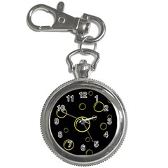 Yellow bubbles Key Chain Watches