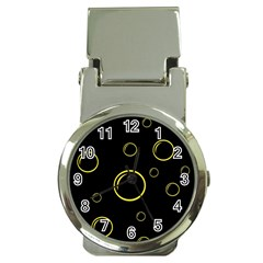 Yellow bubbles Money Clip Watches