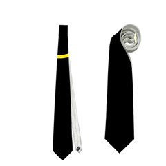 Yellow bubbles Neckties (One Side)