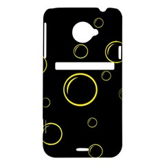 Yellow bubbles HTC Evo 4G LTE Hardshell Case
