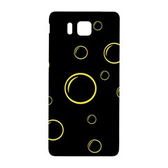 Yellow bubbles Samsung Galaxy Alpha Hardshell Back Case
