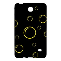 Yellow bubbles Samsung Galaxy Tab 4 (7 ) Hardshell Case