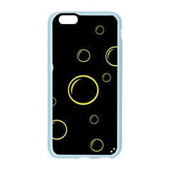 Yellow bubbles Apple Seamless iPhone 6/6S Case (Color)