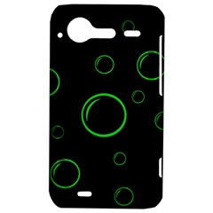 Green buubles pattern HTC Incredible S Hardshell Case