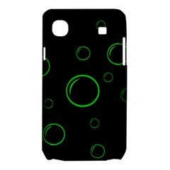 Green buubles pattern Samsung Galaxy SL i9003 Hardshell Case
