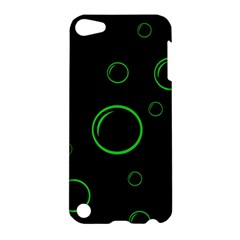 Green buubles pattern Apple iPod Touch 5 Hardshell Case