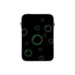 Green buubles pattern Apple iPad Mini Protective Soft Cases