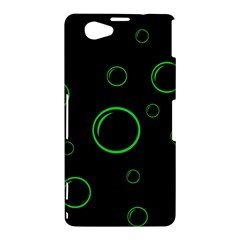 Green buubles pattern Sony Xperia Z1 Compact
