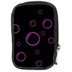 Purple bubbles  Compact Camera Cases