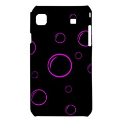 Purple bubbles  Samsung Galaxy S i9008 Hardshell Case