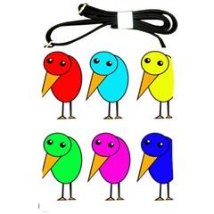 Colorful birds Shoulder Sling Bags