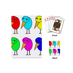 Colorful birds Playing Cards (Mini)
