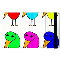 Colorful birds Apple iPad 3/4 Flip Case