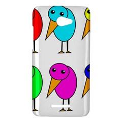 Colorful birds HTC Butterfly X920E Hardshell Case