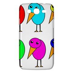Colorful birds Samsung Galaxy Mega 5.8 I9152 Hardshell Case