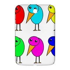 Colorful birds Samsung Galaxy Note 8.0 N5100 Hardshell Case