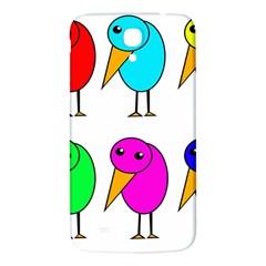 Colorful birds Samsung Galaxy Mega I9200 Hardshell Back Case
