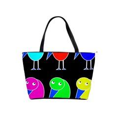 Colorful birds Shoulder Handbags