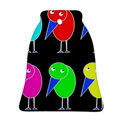 Colorful birds Ornament (Bell)