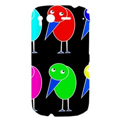 Colorful birds HTC Desire S Hardshell Case
