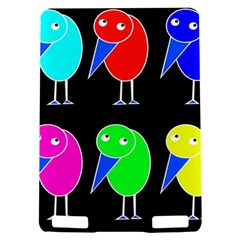 Colorful birds Kindle Touch 3G