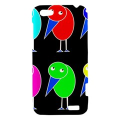 Colorful birds HTC One V Hardshell Case