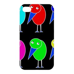 Colorful birds Apple iPhone 4/4S Premium Hardshell Case